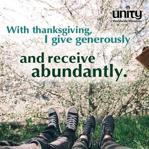 So much gratitude for those serving the Unity movement youhellip