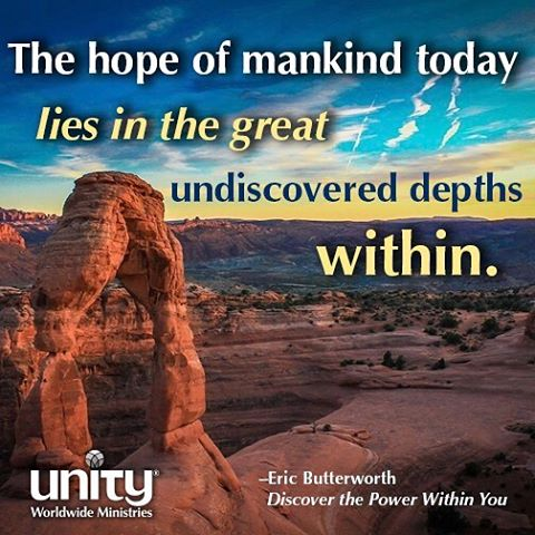 Discover the power within you! Unity