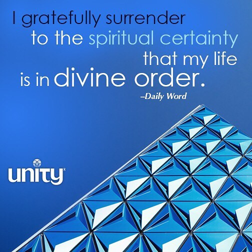 Surrender is an essential spiritual step that allows divine orderhellip