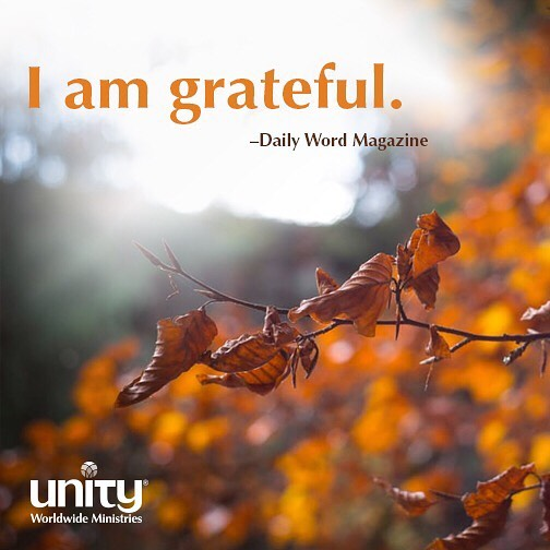 Happy Thanksgiving! We are so grateful for our Unity leadershellip